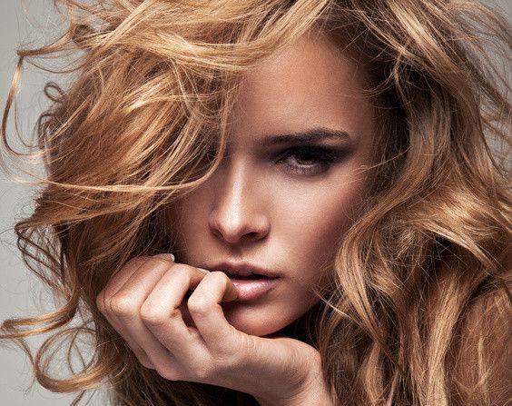Frisurentipps für dickes Haar.