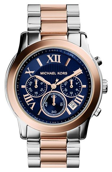 MICHAEL Michael Kors Michael Kors 'Cooper' Chronograph Bracelet Watch, 39mm available at #Nordstrom