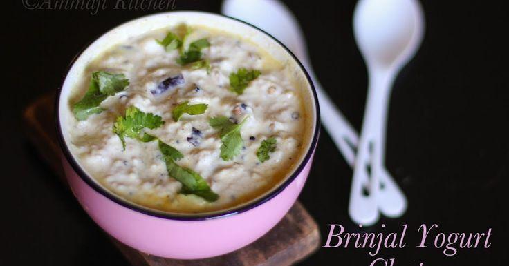 Perugu Pachadi, Yogurt Chutney
