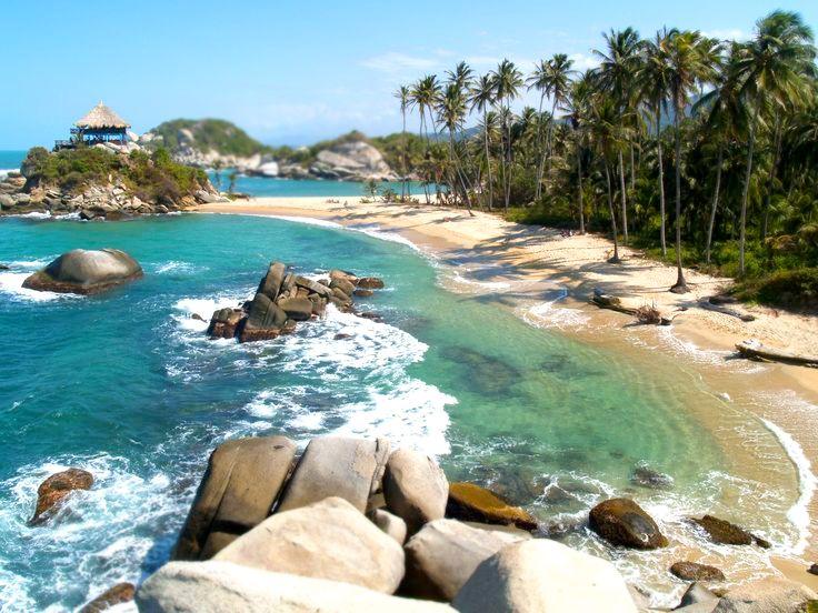 Parque Nacional Natural Tayrona - Hadassah would like this beach.