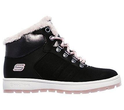 Skechers Kids' Street Cleat 2.0 Trickstar Sneaker Pre/Grade School Shoes (Black/Pink)