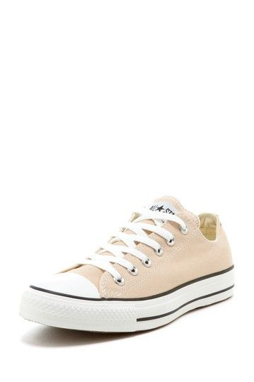 """Chuck Taylor Unisex Nude color """"AS OX"""" sneaker *everyone needs a nude shoe be it sneaker!"""