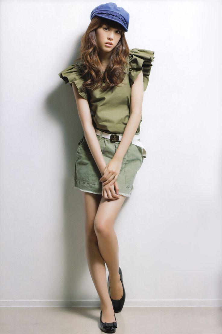 """licoricewall: """" 桐谷美玲 (Mirei Kiritani): Cool Trans """""""