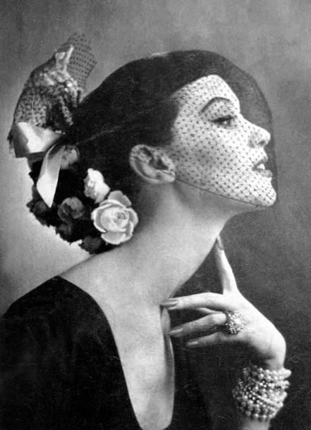 ♔ Vintage Chanel ~ 1950's                                                                                                                                                      More