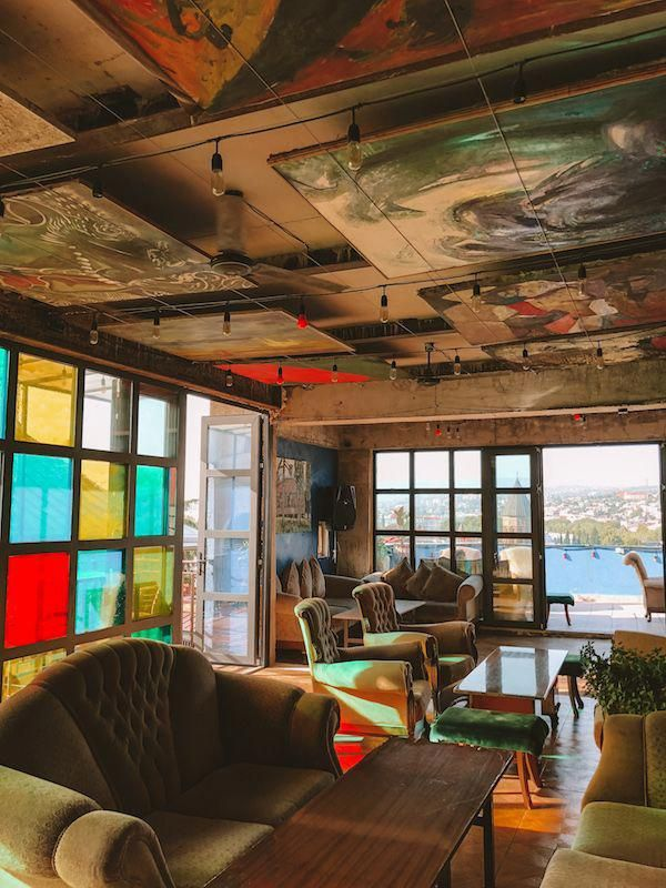 Art Cafe Home Is A Multi Level Creative Space Bar And Nightclub Youll Be Astonished By The Eclectic Decor In Every Room You Enter