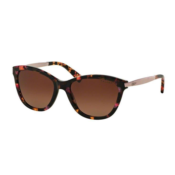 The Ralph by Ralph Lauren Women's RA5201 Pink Plastic Cat Eye Polarized Sunglasses was designed to be an amazing looking means to make sure your vision continues being unharmed from the sun's strong ultra-violet rays.