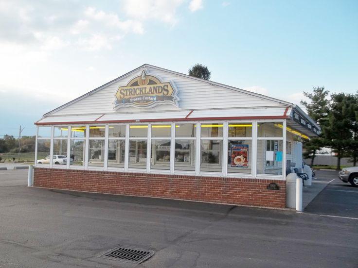Stricklands Custard Stand, Akron Ohio, best custard ice cream ever!~According to Mom