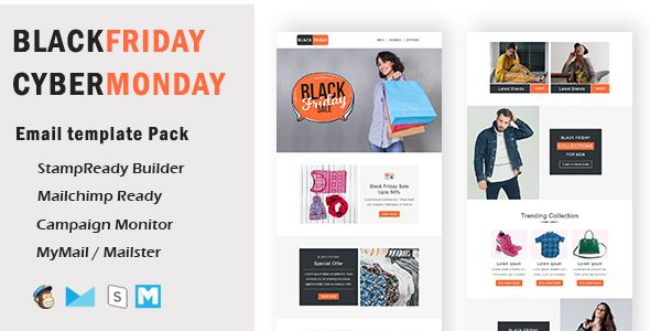 Blackfriday Multipurpose Responsive Email Template With Mailchimp