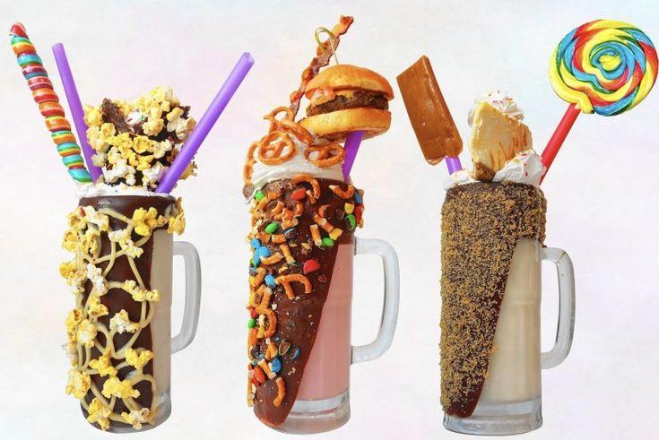 Sugar Factory best insane craziest biggest burger milkshake Miami Lincoln Road