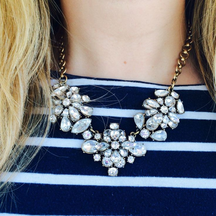 ocprepster:  J. Crew statement necklaces are absolutely my favorite