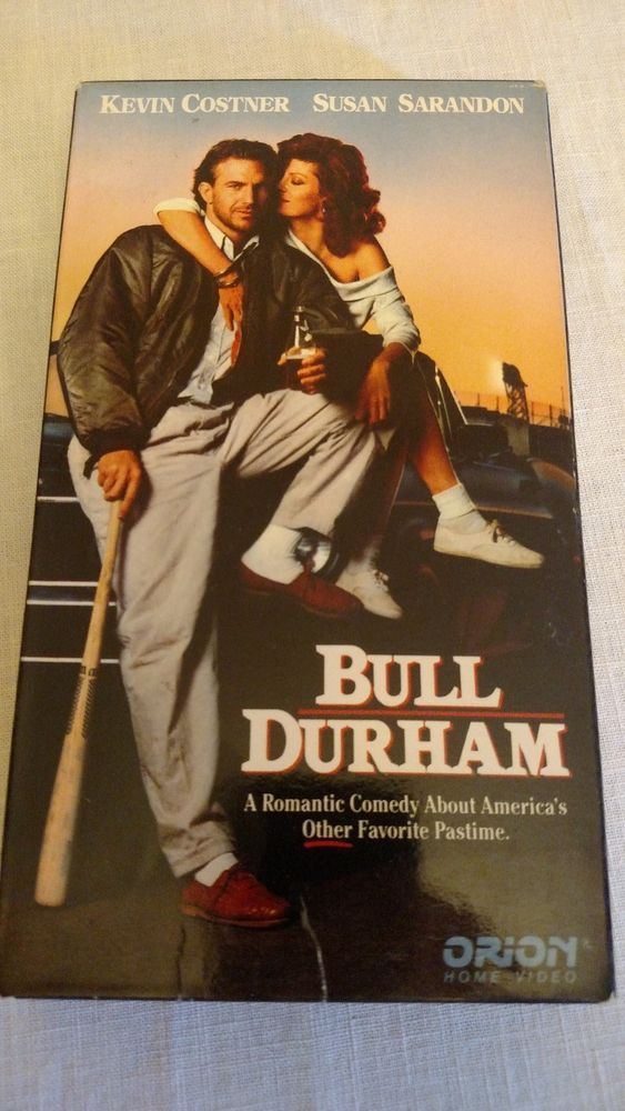 Movie Bull Durham VHS with Kevin Costner & Susan Sarandon