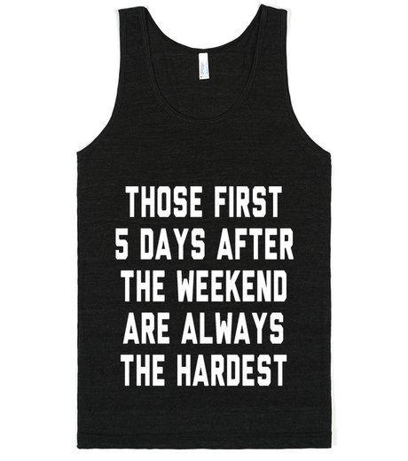 Weekdays are Hard