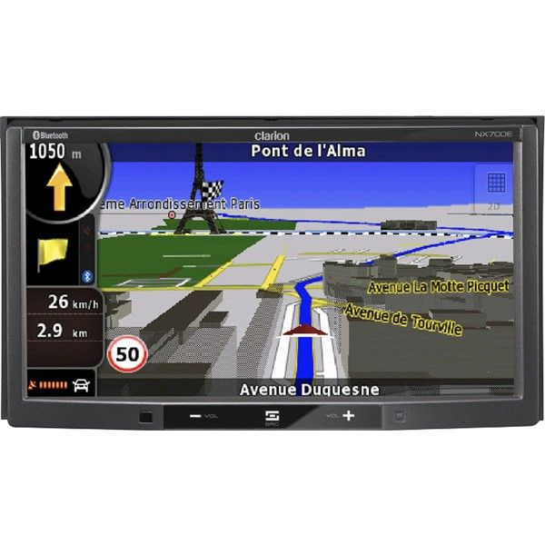 17 best ideas about clarion car audio kenwood car clarion nx700e double din all in one sat nav dvd ipod control bluetooth