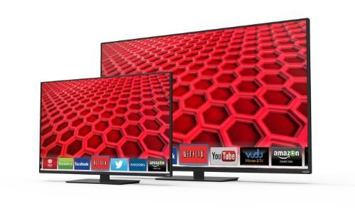 Vizio's Line of E-Series TVs Provides Local Dimming and WiFi #largescreen #tvs trendhunter.com