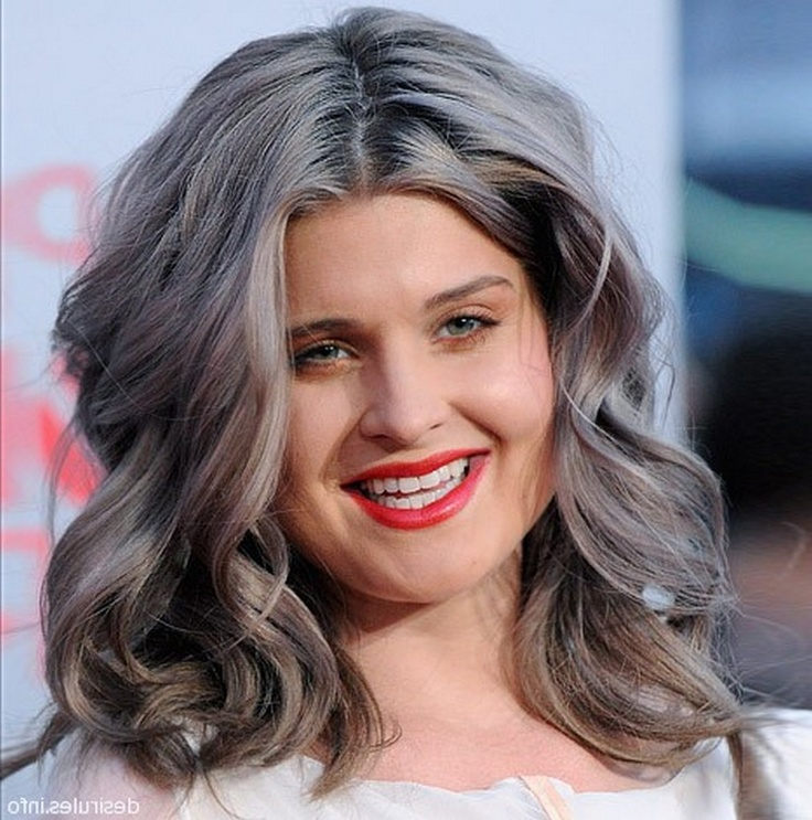 15 best images about Robin hair on Pinterest | Pewter, Medium wavy ...