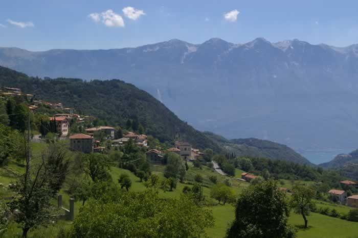 The countryside around Tignale