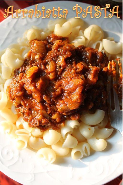 Yummy Tummy Arrabiata Pasta Recipe Arrabbiata Pasta Sauce Recipe