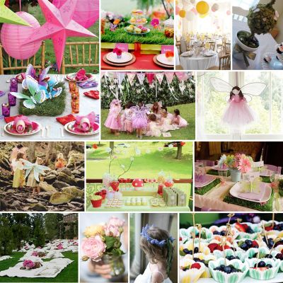 CAKE. | events + design: custom inspiration board: a fairy garden birthday
