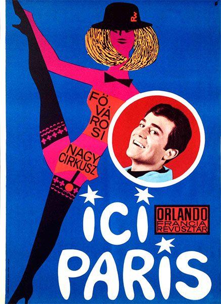 ICI Paris at the Metropolitan Grand Circus (Révész-Wigner, 1954) - only 77 USD until April 30!