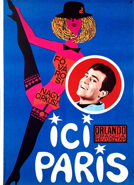 ICI Paris at the Metropolitan Grand Circus (Révész-Wigner, 1954) - only 77 USD until April 30!