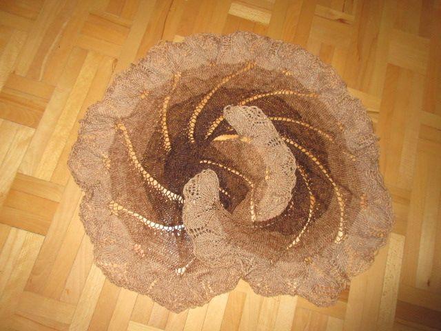 pletený šál, Pletenie | Artmama.sk