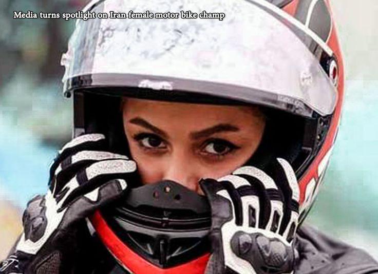 Media turns spotlight on Iran female motor bike champ A number of international news outlets turn the spotlight on Behnaz Shafiei, Iran's female motocross champion. Read more at: www.ifilmtv.com/English/News/NewsIn/2420