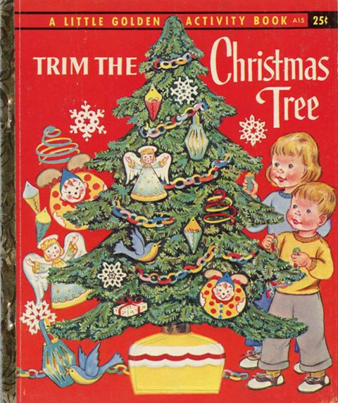 LGB - Trim The Christmas Tree (Activity Book) #A15