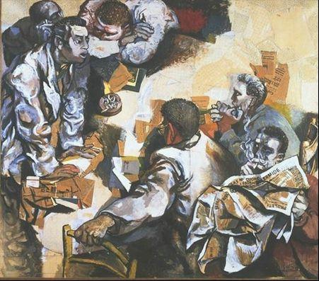 Renato Guttuso, The Discussion, 1959