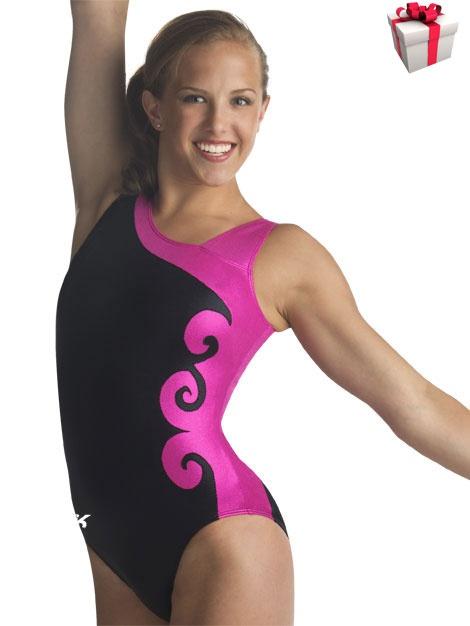Classic Asymmetrical Gymnastics Leotard from GK Elite