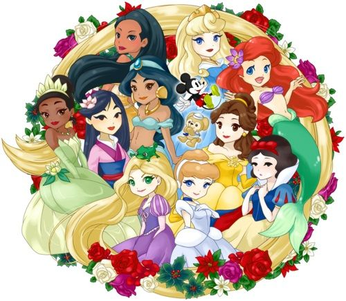 Disney Princesses [fan] - Page 2