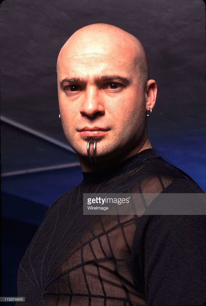 david draiman singer during disturbed photo session at