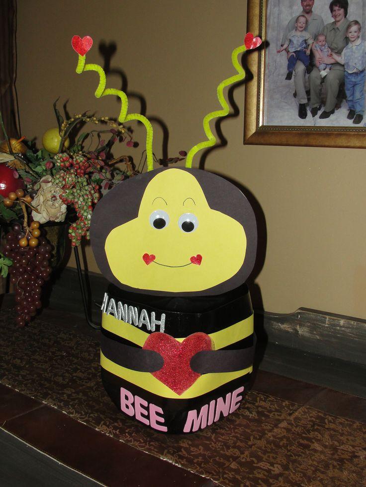 bumble bee valentine box