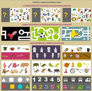 ChinPum: juegos variados y divertidos para bebes y niños. Más en http://activipeques.blogspot.com.es/2012/06/chinpum.html