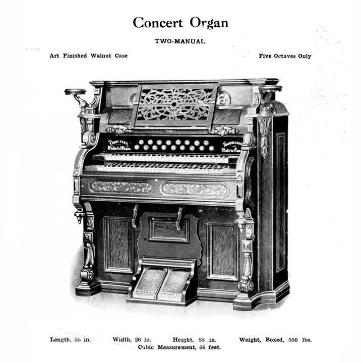 Dominion - 2M Concert Reed Organ