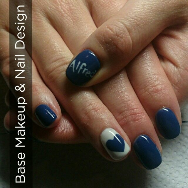 Nails done by Berna Terblanche. #handpaintedart #biosculpture