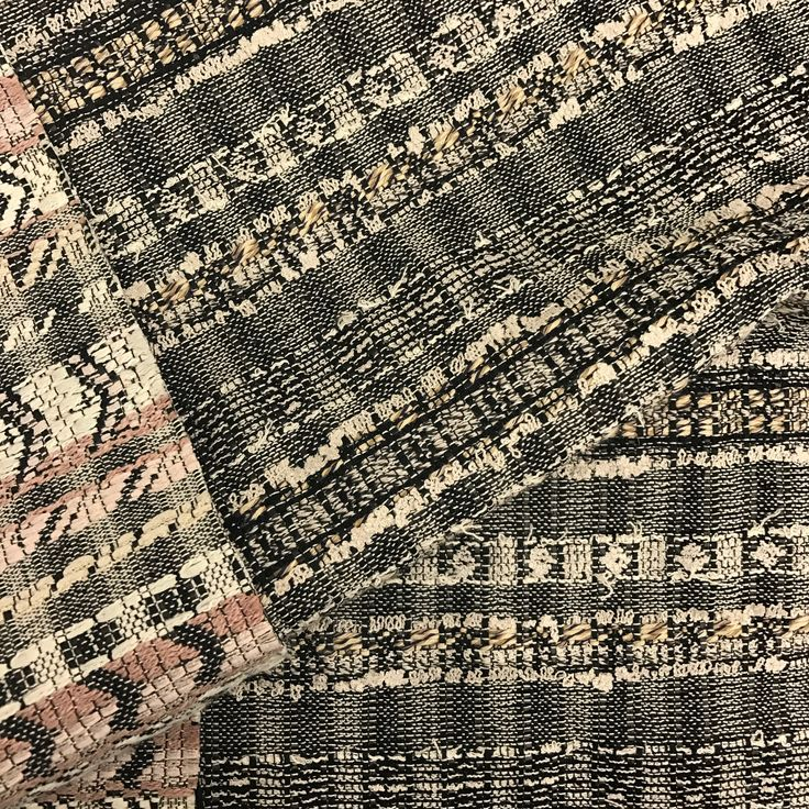 | Mahlia Kent : Fall/ Winter 2016 | ID#: D97309, OZONIER JM International Group Office: 323-376-0625 www.JMinternation... #JMinternational #pattern  #fabric #fabrics #Tweed #textile #mahliakent #parisian #HauteCouture #latextileshow #texture