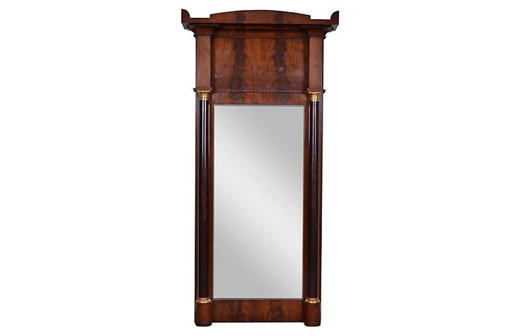 19th-C. French Empire Trumeau Mirror $5,995.00