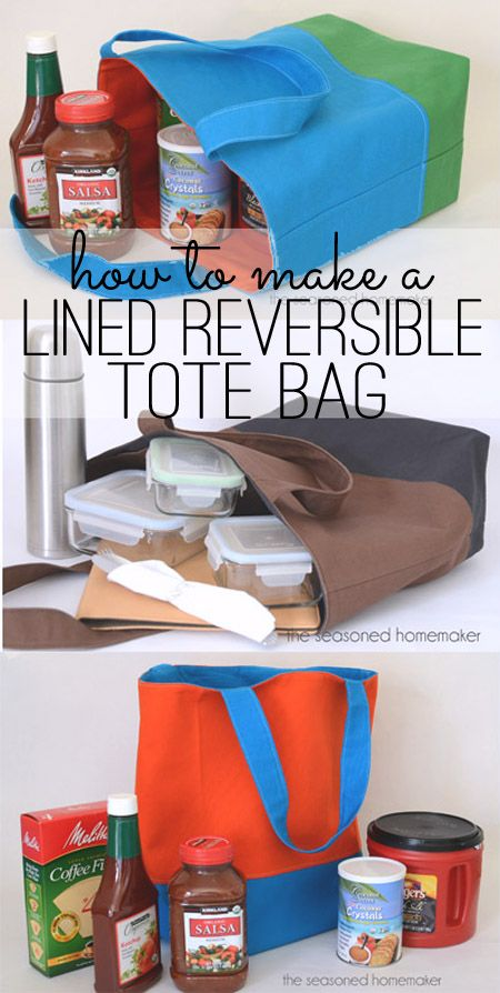 How to Make a Reversible, Lined, Tote BagDenise Foor Stampin' Up! Demonstrator