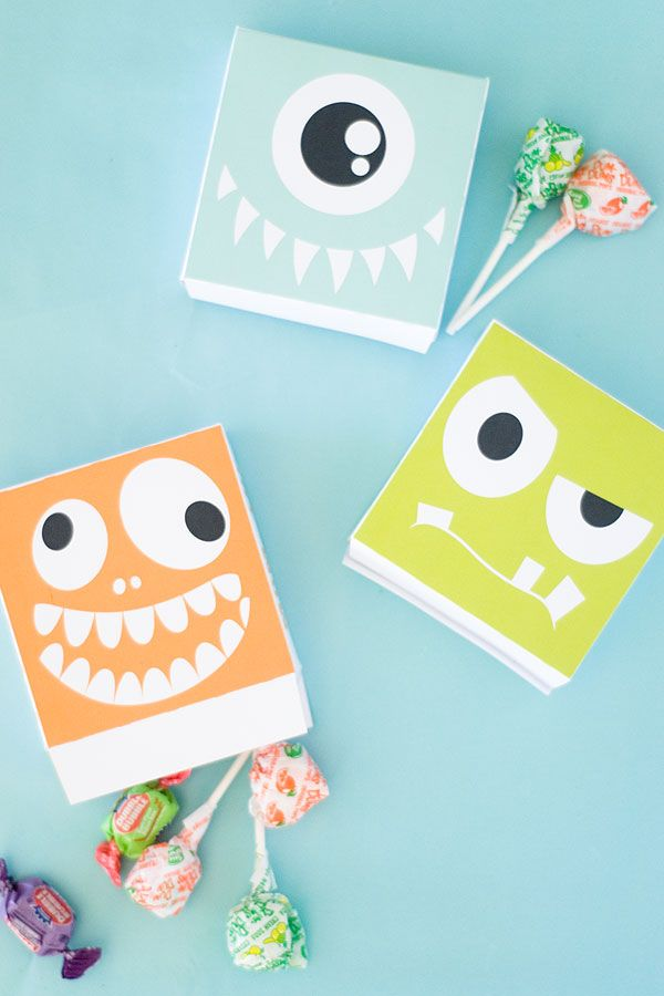 Monster Candy Box
