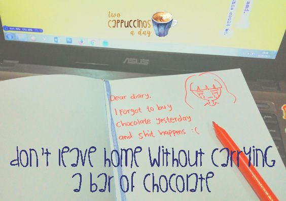 Two Cappuccinos A Day: (Week #3) Don't Leave Home Without Carrying a Bar ...
