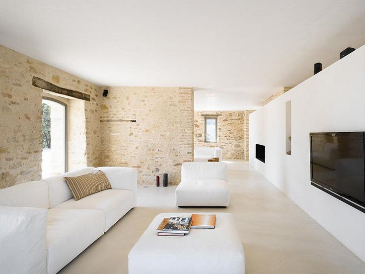 white and stone_ cold and warm desire to inspire - desiretoinspire.net - Casa Olivi