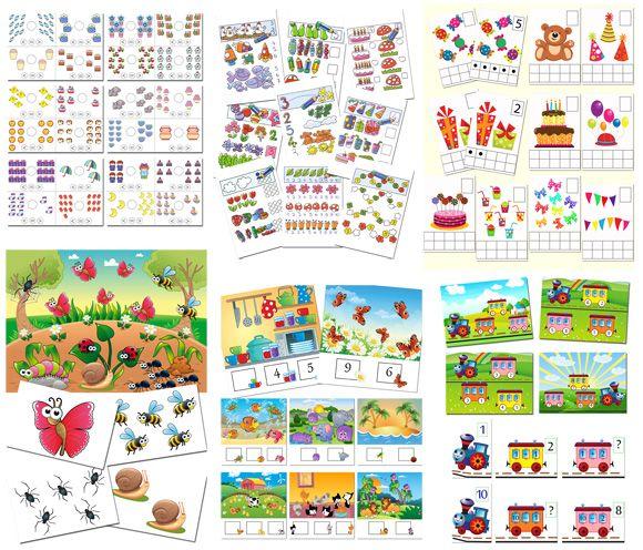 Дидактические математические игры для детей