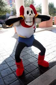 COSPLAY DO PAPYRUS <3