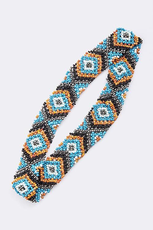 17 best images about beaded headbands on