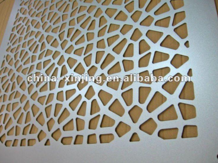 Perforated Metal Wall Panels Decorative perforated metal