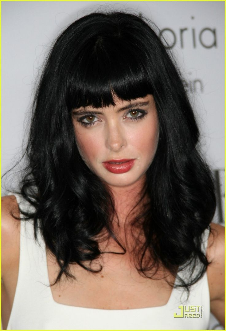 hair  inspiration by Bettie Page