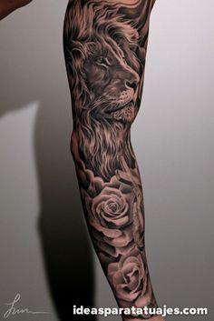 Muchos hombres deciden realizarse tatuajes de gran tamaño en sus brazos. Ya sea comenzando de a poco y realizando dibujos por partes o de una sola vez, este tipo de tatuajes cada vez es mas frecuen…