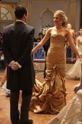 great gossip girl gown