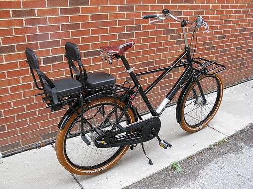 A bicycle built for two, three, possibly more                                                                                                                                                                                 Mais