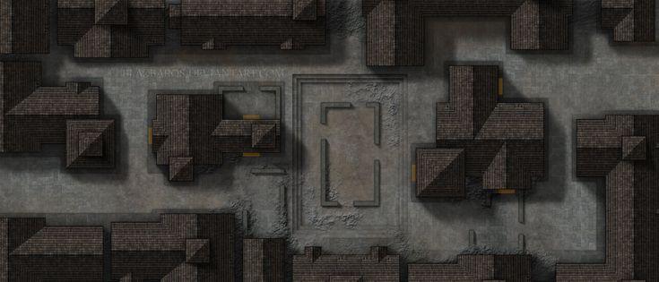 Mordheim Map 3: The Street Fight by Blazbaros.deviantart.com on @DeviantArt